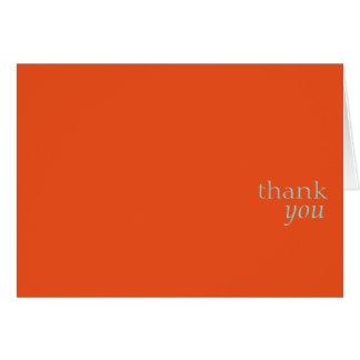 Danke card.orange karte
