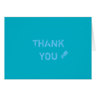 Danke card.pacific Blau Karte