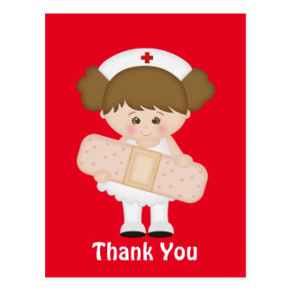 Danke, Cartoonpostkarte zu pflegen Postkarte