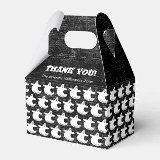 Danke:  Diva-Geist-Muster auf strukturiertem Geschenkschachtel