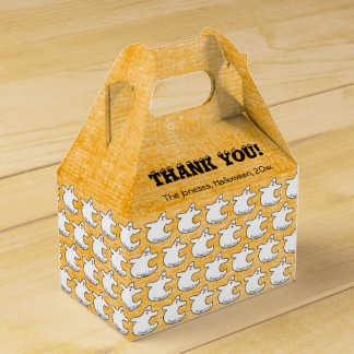 Danke:  Diva-Geist-Muster auf strukturierter Geschenkschachtel