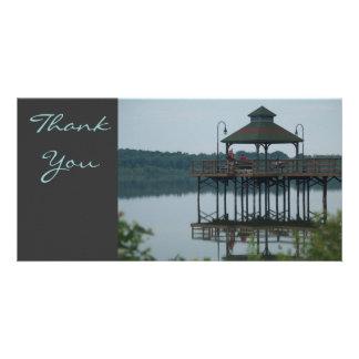 Danke Dock w Gazeebo Bilderkarte
