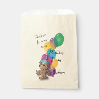 Danke Dschungel-Affe Geschenktütchen