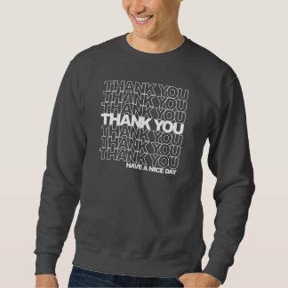 Danke - Einkaufstaschen-Shirt Sweatshirt