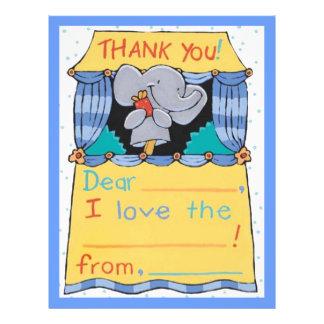 Danke Elefant 21,6 X 27,9 Cm Flyer