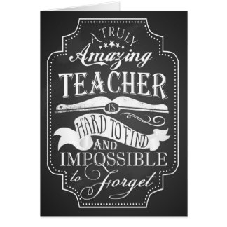 Danke fantastische Lehrerkarten-Anerkennungswoche Karte