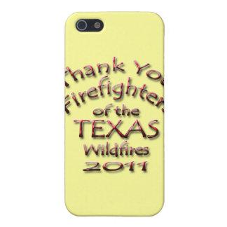 Danke Feuerwehrmänner Texas 2011 iPhone 5 Schutzhülle