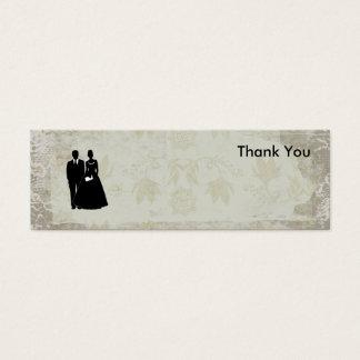 Danke Foto-Karten für Bevorzugung und Mini Visitenkarte