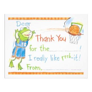 Danke Froggy Personalisierte Flyer