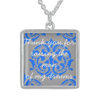 Danke für das Anheben des Mannes meiner Träume Sterling Silberkette