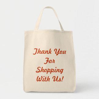 Danke für den Einkauf mit uns Einkaufstasche