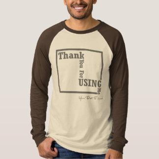 Danke für die Anwendung ich T-Shirts