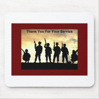 danke für Ihren Service Mauspad