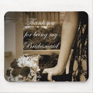 Danke für Sein mein Brautjungfer mousepad