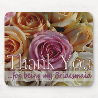 Danke für Sein meine Brautjungfer Mousepads