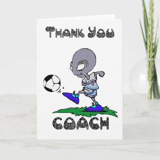 Danke Fussball Trainer Fussball Trainer Zazzle De