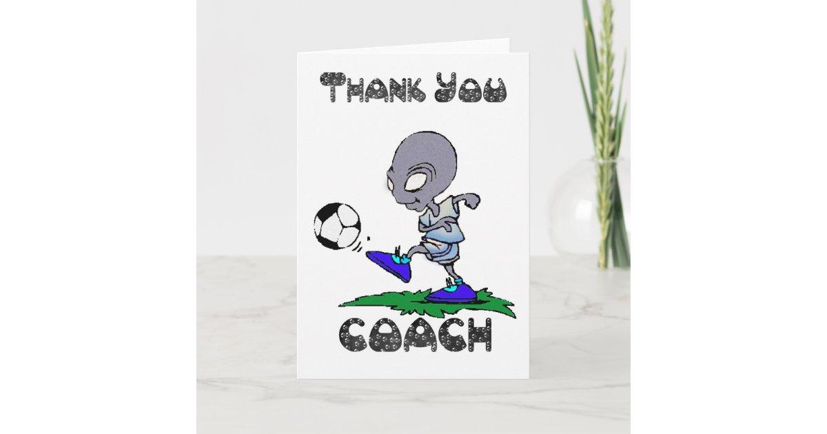 An den fußballtrainer danke Alles über