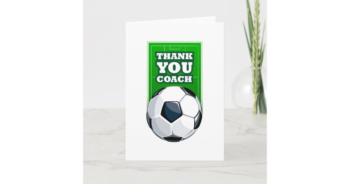 danke Fußballtrainer | Zazzle.de