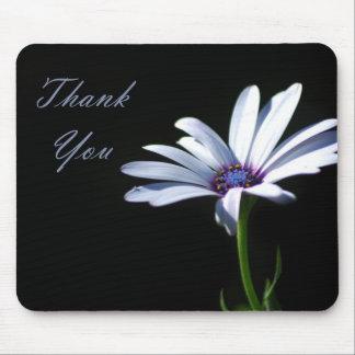 Danke - Gänseblümchen Mousepad