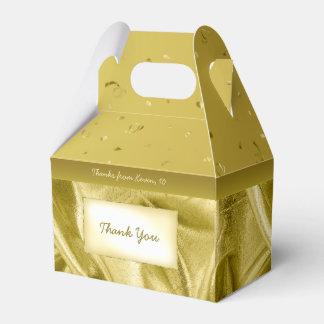 """""""Danke"""" Geburtstags-Gold Texturgewebe-Blick Geschenkschachtel"""