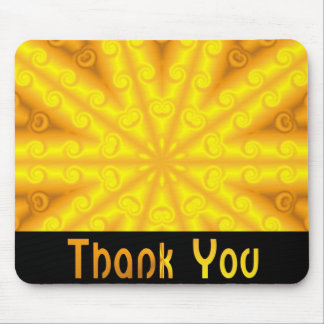 Danke gelb mauspads