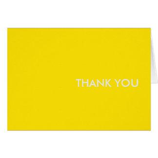 """danke, """"gelbes Sportauto """" zu kardieren Karte"""