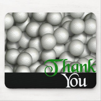 Danke Golfbälle Mousepads