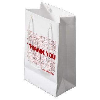 Danke! Haben Sie einen schönen Tag! Kleine Geschenktüte