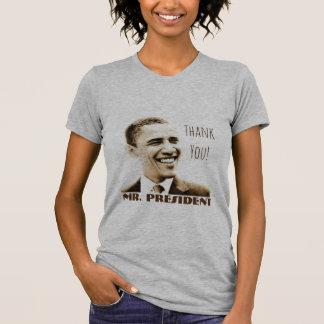 """Danke! Herr Präsident"" mit POTUS Obama T-Shirt"