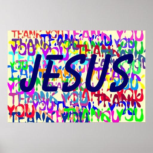 Danke, Jesus Posterdrucke