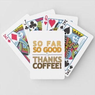 Danke Kaffee Bicycle Spielkarten
