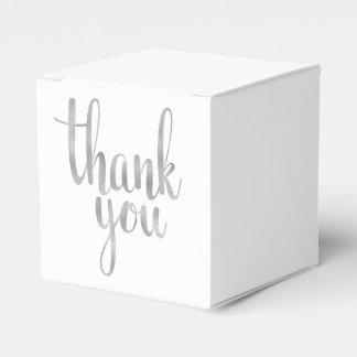 Danke, Kästen zu bevorzugen Geschenkschachtel