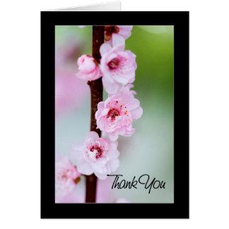 Danke - Kirschblüte Karte