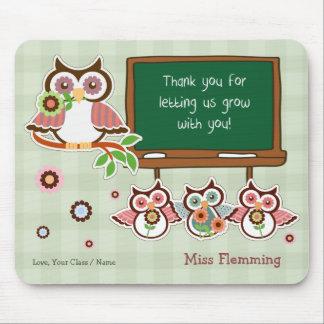 Danke, Lehrer. Kundengerechtes Geschenk Mousepads