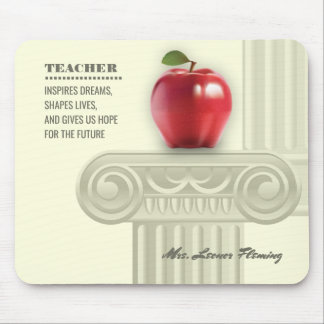 Danke, Lehrer. Unterrichtendes Zitat-Geschenk Mauspads