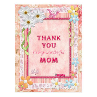 Danke Mamma-, Blumen- und Postkarte
