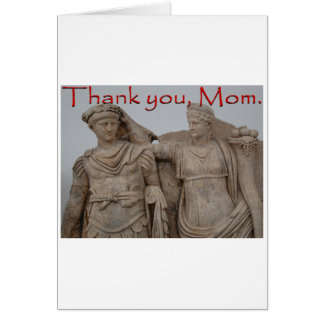 Danke, Mamma Karte