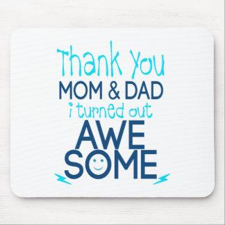 danke Mamma und Vati, die ich fantastisches Mauspad