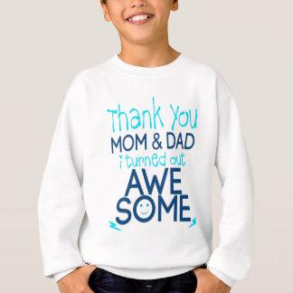 danke Mamma und Vati, die ich fantastisches Sweatshirt