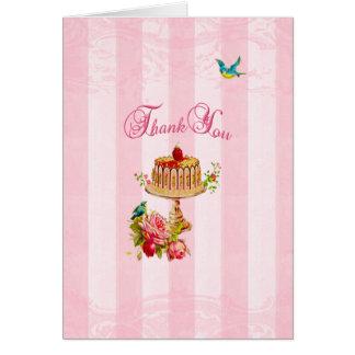 Danke Marie, den Antoinette sie Kuchen essen ließ Grußkarten