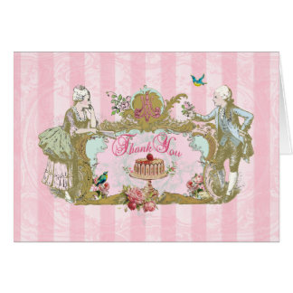 Danke merkt Marie, den Antoinette sie Kuchen essen Karte