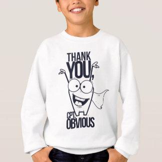 danke offensichtlicher cooler Entwurf pct Sweatshirt
