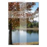 Danke - Pastor-Anerkennung mit Herbst-Baum Grußkarten