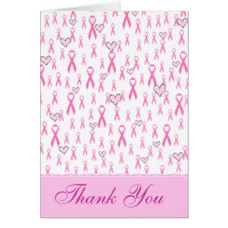 Danke, rosa Bänder-ICh Sorgfalt! _ Karte