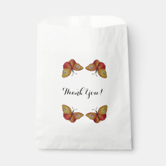 Danke Schmetterlingskunst Bevorzugungs-Tasche Geschenktütchen