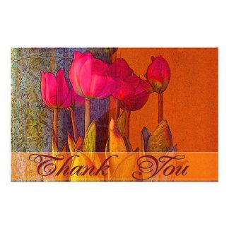 Danke schöne Tulpen