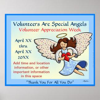 Danke! Sie sind ein Engel! Poster