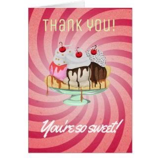 Danke, sind Sie so süß Karte