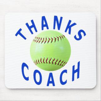 Danke Softball-Trainer-Gruß-Karten u. Geschenke Mousepads