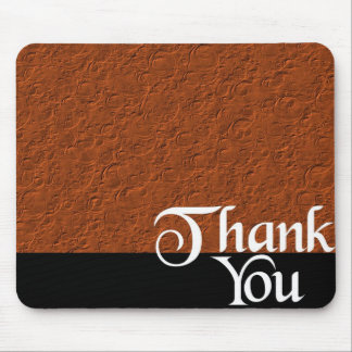 Danke sprudelt Bronze Mousepad